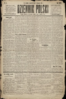 Dziennik Polski. 1901, nr3