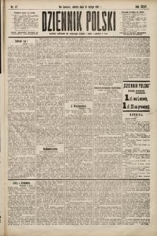 Dziennik Polski. 1901, nr47