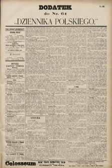Dziennik Polski. 1901, nr63