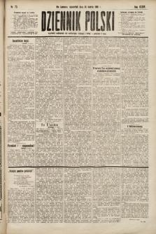 Dziennik Polski. 1901, nr73