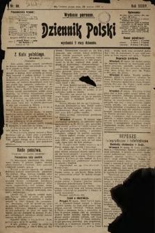 Dziennik Polski (wydanie poranne). 1901, nr88
