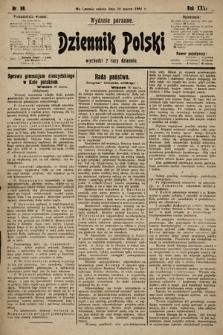 Dziennik Polski (wydanie poranne). 1901, nr89