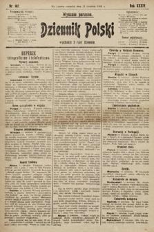 Dziennik Polski (wydanie poranne). 1901, nr107