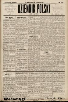 Dziennik Polski (wydanie popołudniowe). 1901, nr110