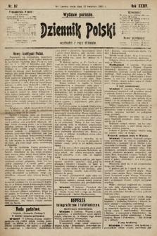 Dziennik Polski (wydanie poranne). 1901, nr117
