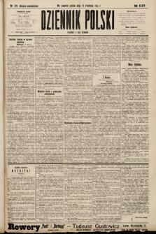 Dziennik Polski (wydanie popołudniowe). 1901, nr120
