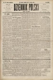 Dziennik Polski (wydanie popołudniowe). 1901, nr124