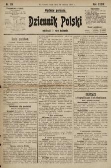 Dziennik Polski (wydanie poranne). 1901, nr129