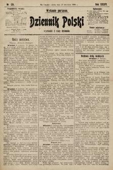 Dziennik Polski (wydanie poranne). 1901, nr135