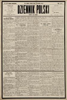 Dziennik Polski (wydanie popołudniowe). 1901, nr138