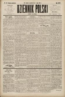 Dziennik Polski (wydanie popołudniowe). 1901, nr142