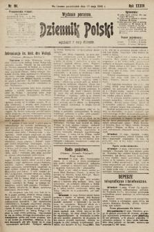 Dziennik Polski (wydanie poranne). 1901, nr161