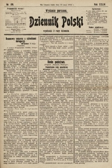 Dziennik Polski (wydanie poranne). 1901, nr176