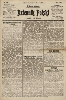 Dziennik Polski (wydanie poranne). 1901, nr184