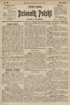 Dziennik Polski (wydanie poranne). 1901, nr201