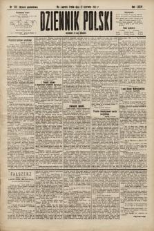 Dziennik Polski (wydanie popołudniowe). 1901, nr208
