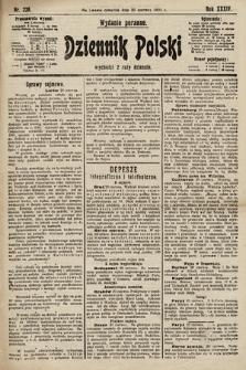 Dziennik Polski (wydanie poranne). 1901, nr223