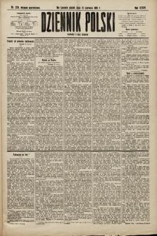 Dziennik Polski (wydanie popołudniowe). 1901, nr224