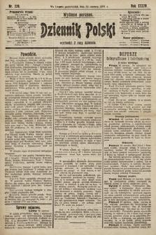 Dziennik Polski (wydanie poranne). 1901, nr229