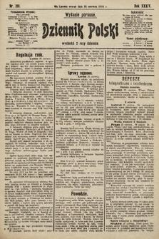 Dziennik Polski (wydanie poranne). 1901, nr231