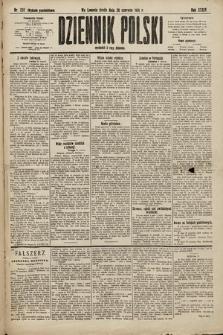 Dziennik Polski (wydanie popołudniowe). 1901, nr232