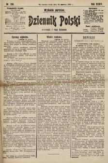 Dziennik Polski (wydanie poranne). 1901, nr233