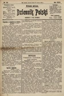 Dziennik Polski (wydanie poranne). 1901, nr235