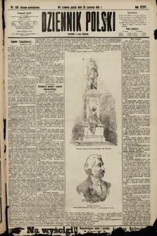 Dziennik Polski (wydanie popołudniowe). 1901, nr236