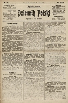Dziennik Polski (wydanie poranne). 1901, nr237