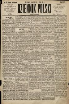 Dziennik Polski (wydanie popołudniowe). 1901, nr245
