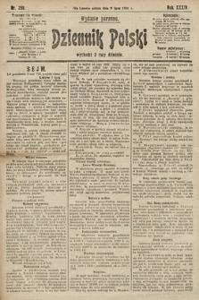 Dziennik Polski (wydanie poranne). 1901, nr250