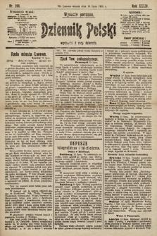 Dziennik Polski (wydanie poranne). 1901, nr266