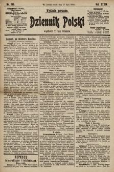 Dziennik Polski (wydanie poranne). 1901, nr268
