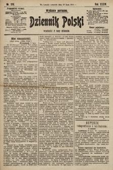 Dziennik Polski (wydanie poranne). 1901, nr270