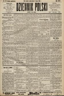Dziennik Polski (wydanie popołudniowe). 1901, nr273