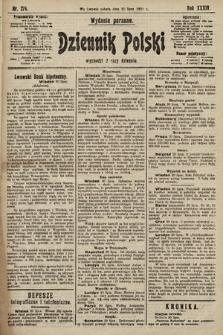 Dziennik Polski (wydanie poranne). 1901, nr274
