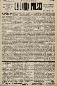 Dziennik Polski (wydanie popołudniowe). 1901, nr277
