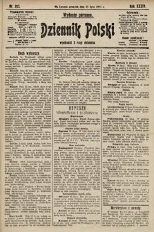 Dziennik Polski (wydanie poranne). 1901, nr282