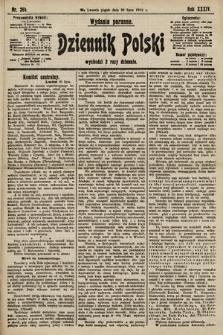 Dziennik Polski (wydanie poranne). 1901, nr284