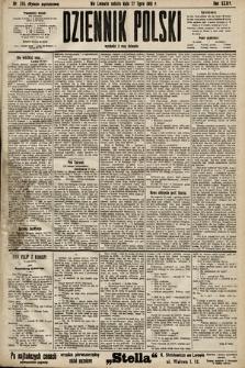 Dziennik Polski (wydanie popołudniowe). 1901, nr285