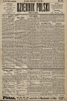 Dziennik Polski (wydanie popołudniowe). 1901, nr287