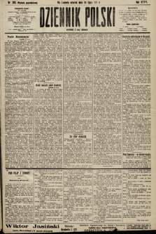 Dziennik Polski (wydanie popołudniowe). 1901, nr289