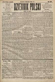 Dziennik Polski (wydanie popołudniowe). 1901, nr291