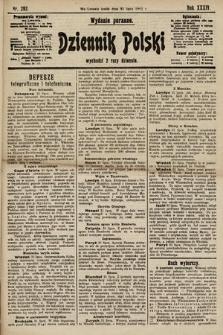 Dziennik Polski (wydanie poranne). 1901, nr292