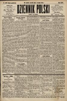 Dziennik Polski (wydanie popołudniowe). 1901, nr293