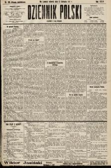 Dziennik Polski (wydanie popołudniowe). 1901, nr313
