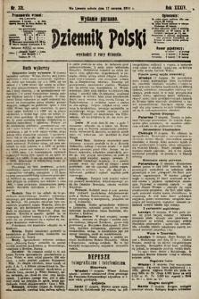 Dziennik Polski (wydanie poranne). 1901, nr321