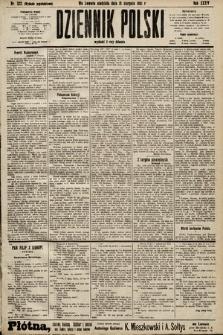 Dziennik Polski (wydanie popołudniowe). 1901, nr322