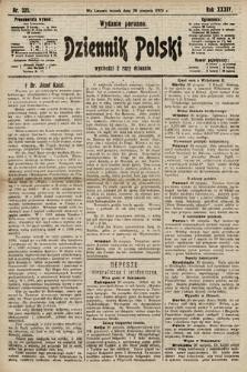 Dziennik Polski (wydanie poranne). 1901, nr325