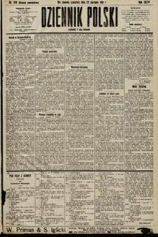 Dziennik Polski (wydanie popołudniowe). 1901, nr328